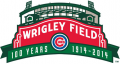 Chicago Cubs 2014 Anniversary Logo iron on transfer