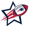 New England Patriots Football Goal Star iron on transfer