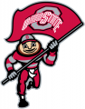 Ohio State Buckeyes 2003-2012 Mascot Logo 10 iron on transfer