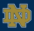 Notre Dame Fighting Irish 1994-Pres Alternate Logo 06 decal sticker
