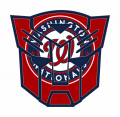 Autobots Washington Nationals logo iron on transfers