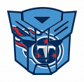 Autobots Tennessee Titans logo decal sticker