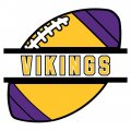 Football Minnesota Vikings Logo iron on transfer