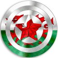 CAPTAIN AMERICA Wales decal sticker