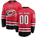 Carolina Hurricanes Custom Letter and Number Kits for Red Home Jersey