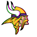 Phantom Minnesota Vikings logo iron on transfer