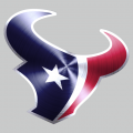 Houston Texans Stainless steel logo iron on transfer