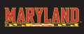 I-M_Maryland Terrapins 1997-Pres Wordmark Logo 11 iron on transfer