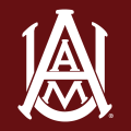 Alabama A&M Bulldogs 2000-Pres Primary Dark Logo iron on transfer