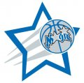 Orlando Magic Basketball Goal Star decal sticker
