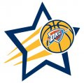 Oklahoma City Thunder Basketball Goal Star decal sticker