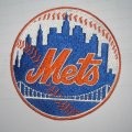 New York Mets Logo Embroidered Iron On Patches