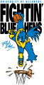 Delaware Blue Hens 1999-Pres Mascot Logo 12 decal sticker