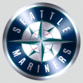 Seattle Mariners Stainless steel logo iron on transfer