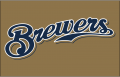 Milwaukee Brewers 2013-2015 Jersey Logo decal sticker