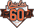 Baltimore Orioles 2014 Anniversary Logo iron on transfer