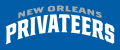 New Orleans Privateers 2013-Pres Wordmark Logo 07 decal sticker