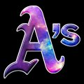 galaxy oakland athletics decal stickers