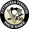 Pittsburgh Penguins iron on transfer