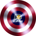 captain american shield with indiana pacers logo iron on transfer