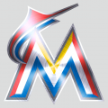 Miami Marlins Stainless steel logo iron on transfer