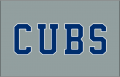 Chicago Cubs 2014-Pres Jersey Logo iron on transfer
