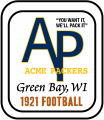 Green Bay Packers 1921 Primary Logo iron on transfer