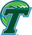 Tulane Green Wave 2014-Pres Primary Logo iron on transfer