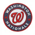 Washington Nationals Logo Embroidered Iron On Patches