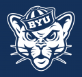 Brigham Young Cougars 2015-Pres Alternate Logo 02 iron on transfer