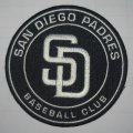 San Diego Padres Logo Embroidered Iron On Patches