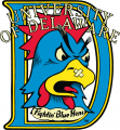 Delaware Blue Hens 1987-1998 Primary Logo decal sticker