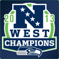 Seattle Seahawks 2013 Champion Logo iron on transfer