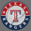 texas rangers 2003-pres primary plastic effect logo iron on transfer