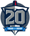 Tennessee Titans 2018 Anniversary Logo iron on transfer