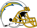 Los Angeles Chargers 2019-Pres Helmet decal sticker