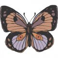 Butterfly DIY iron on stickers (heat transfer) version 5