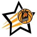 Phoenix Suns Basketball Goal Star decal sticker