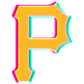 Phantom Pittsburgh Pirates logo decal sticker