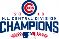 Chicago Cubs 2016 Champion Logo iron on transfer