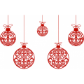 Personalized Christmas Decoration DIY decals stickers 1
