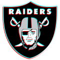 Phantom Oakland Raiders logo iron on transfer