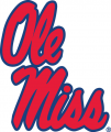 Mississippi Rebels 1996-Pres Secondary Logo 03 decal sticker