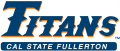 Cal State Fullerton Titans 1992-2009 Wordmark Logo 04 decal sticker