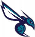 Charlotte Hornets 2014-Pres Alternate Logo decal sticker