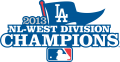 Los Angeles Dodgers 2013 Champion Logo 02 decal sticker