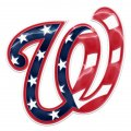 washington nationals crystal logo decal sticker