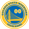 Golden State Warriors iron on transfer