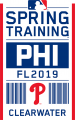 Philadelphia Phillies 2019 Event Logo decal sticker
