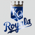 Kansas City Royals Stainless steel logo decal sticker